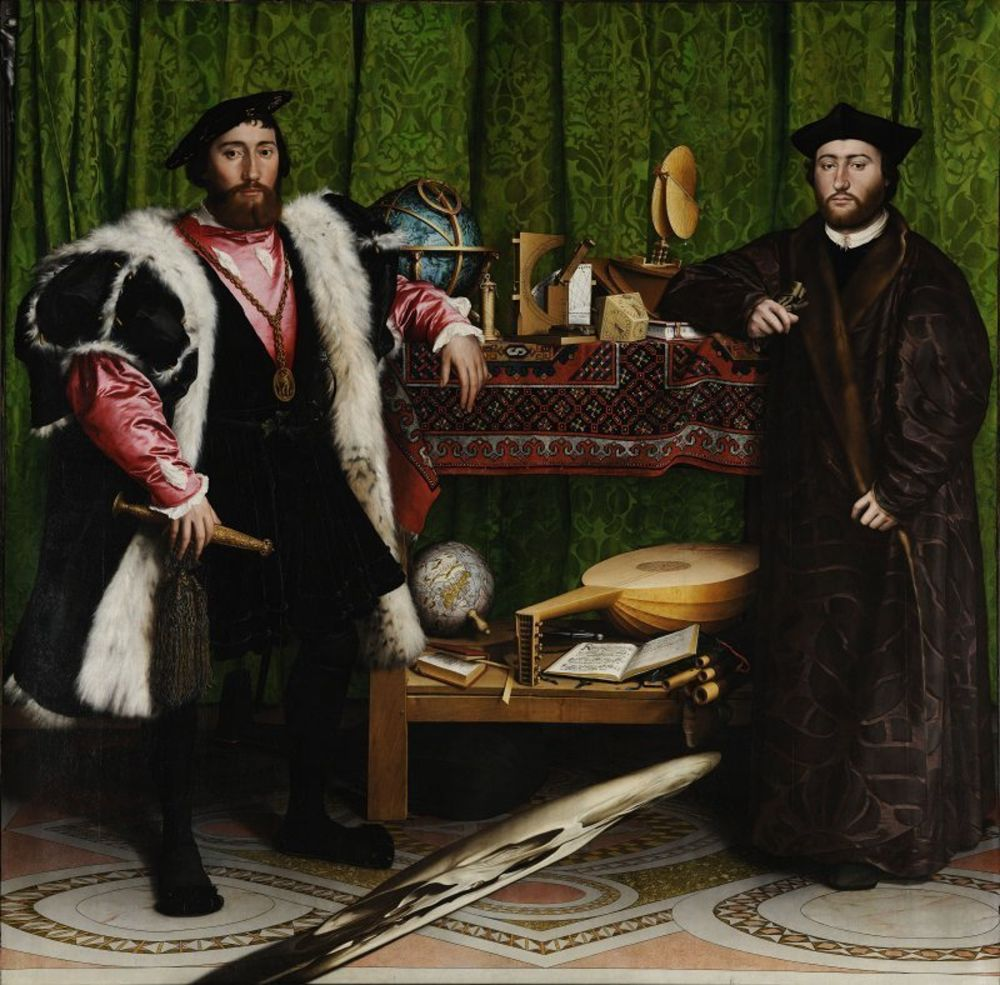 Hans Holbein the Younger - The Ambassadors.jpg